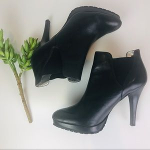 Jessica Simpson Black Leather Boots 9B